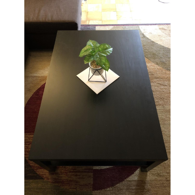 Ikea Lack Coffee Table in Black-Brown - image-1