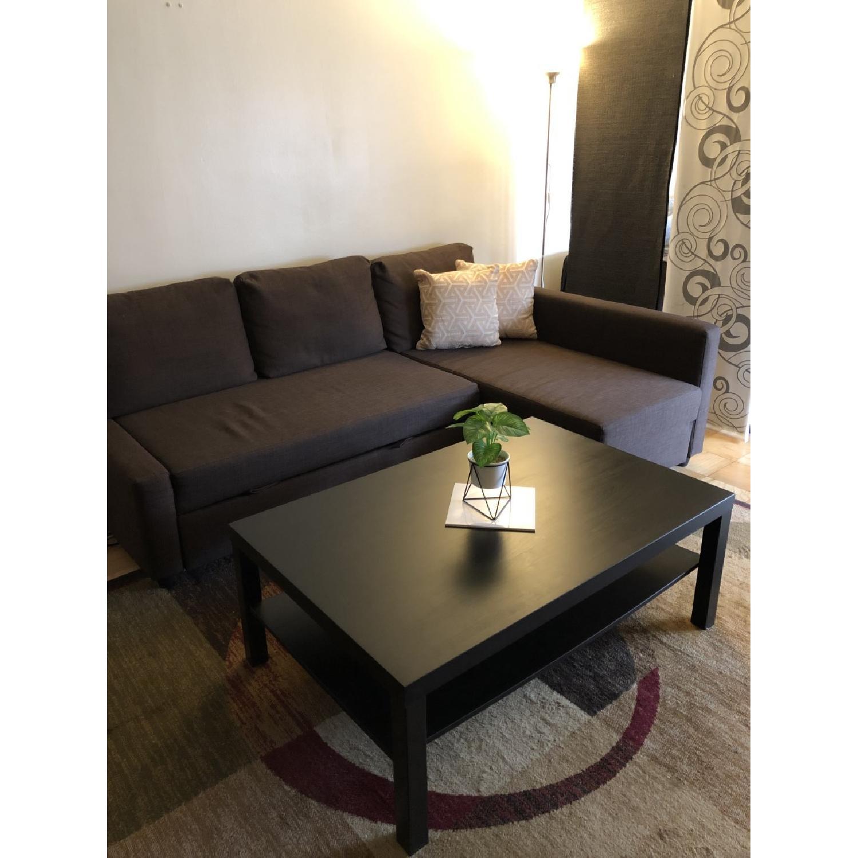 Ikea Lack Coffee Table in Black-Brown - image-2
