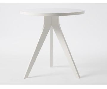 West Elm Tripod White Dining Table