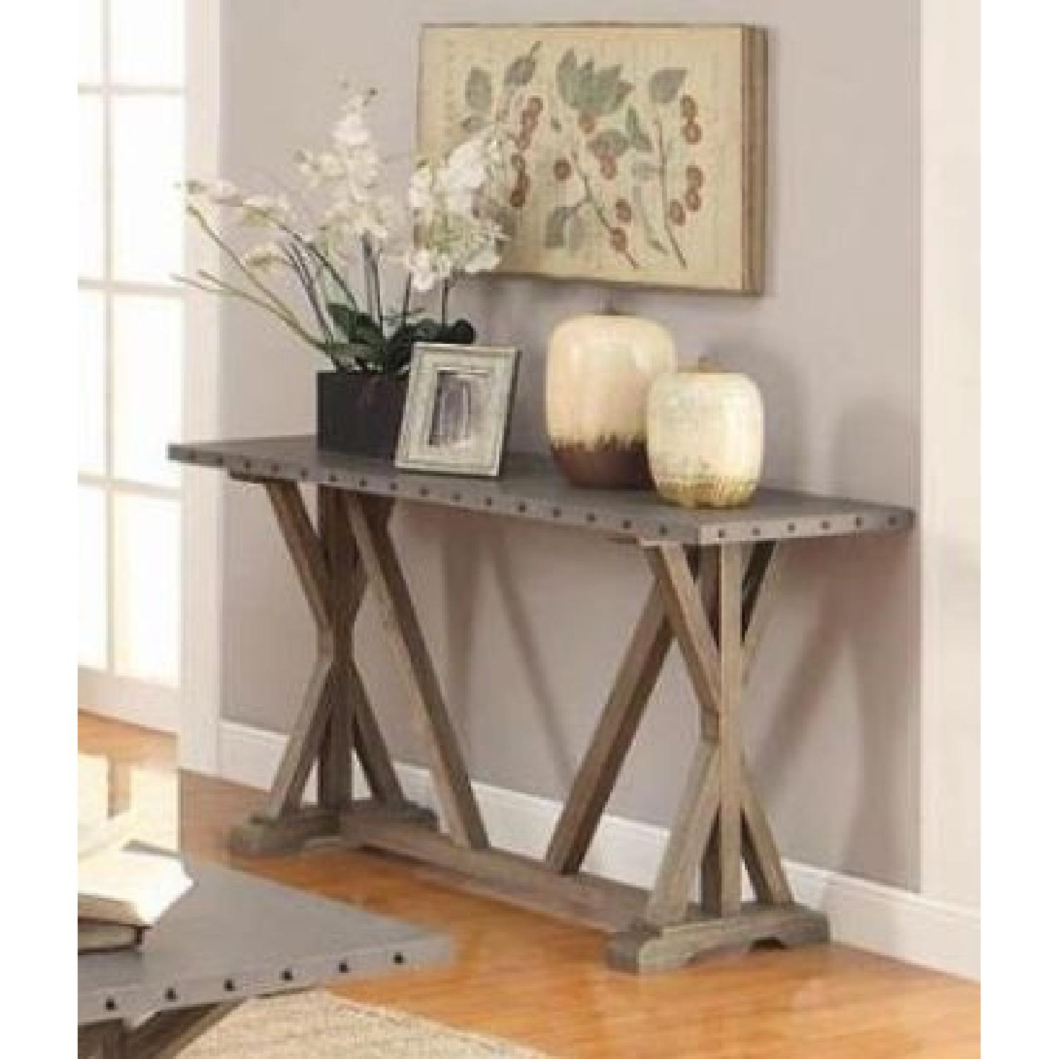 Rustic Industrial Style CoffeeTable-0