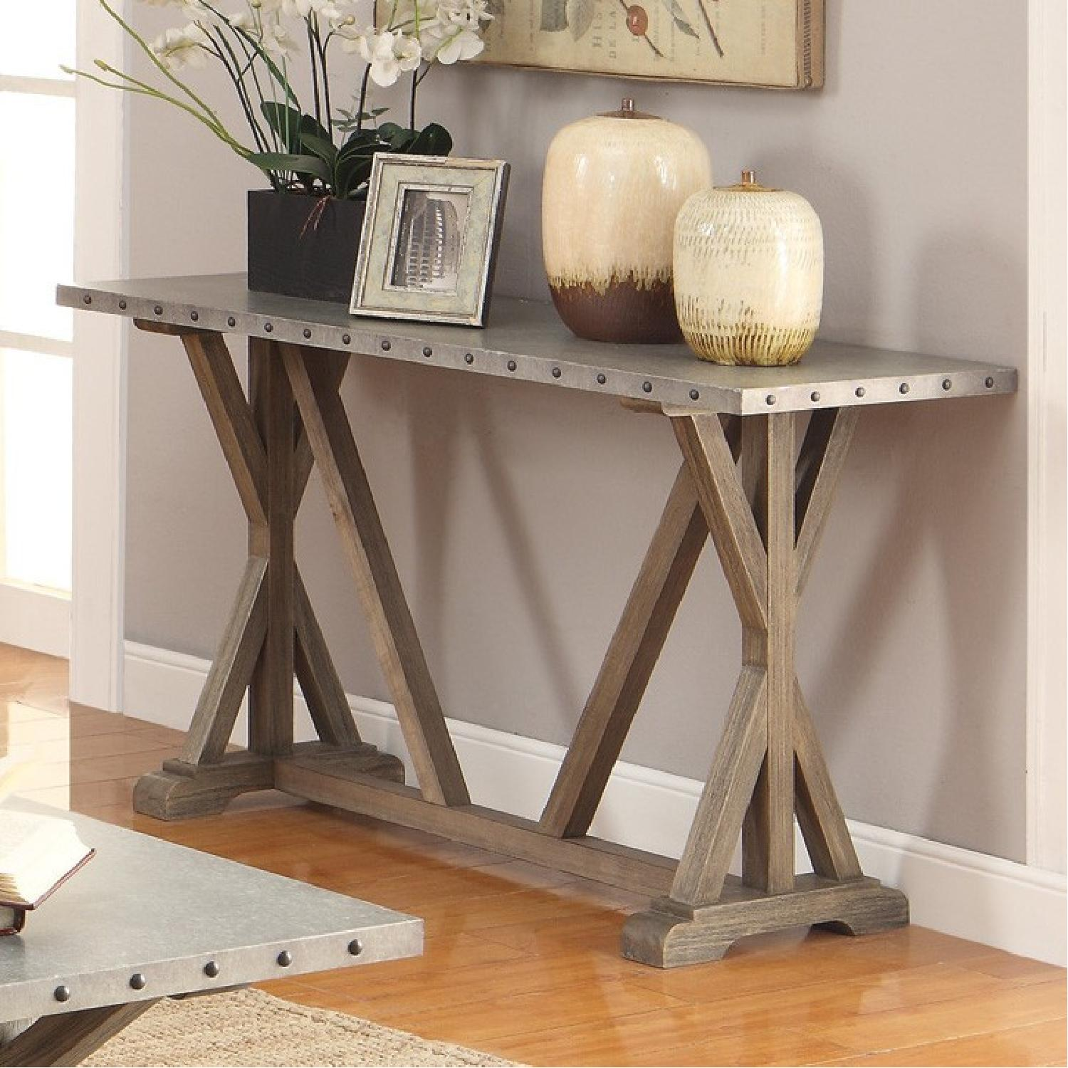 Rustic Industrial Style CoffeeTable-1