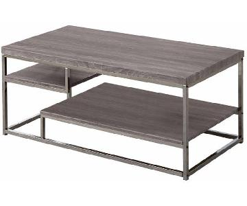 Withered Grey Contemporary Style Coffee table