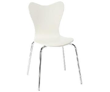 West Elm Scoop Back Chair