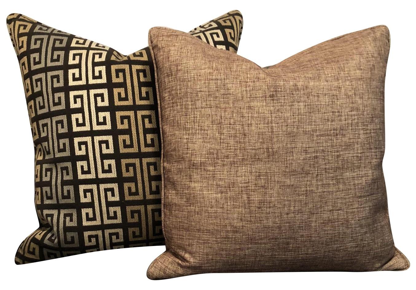 Ethan Allen Custom Pillows