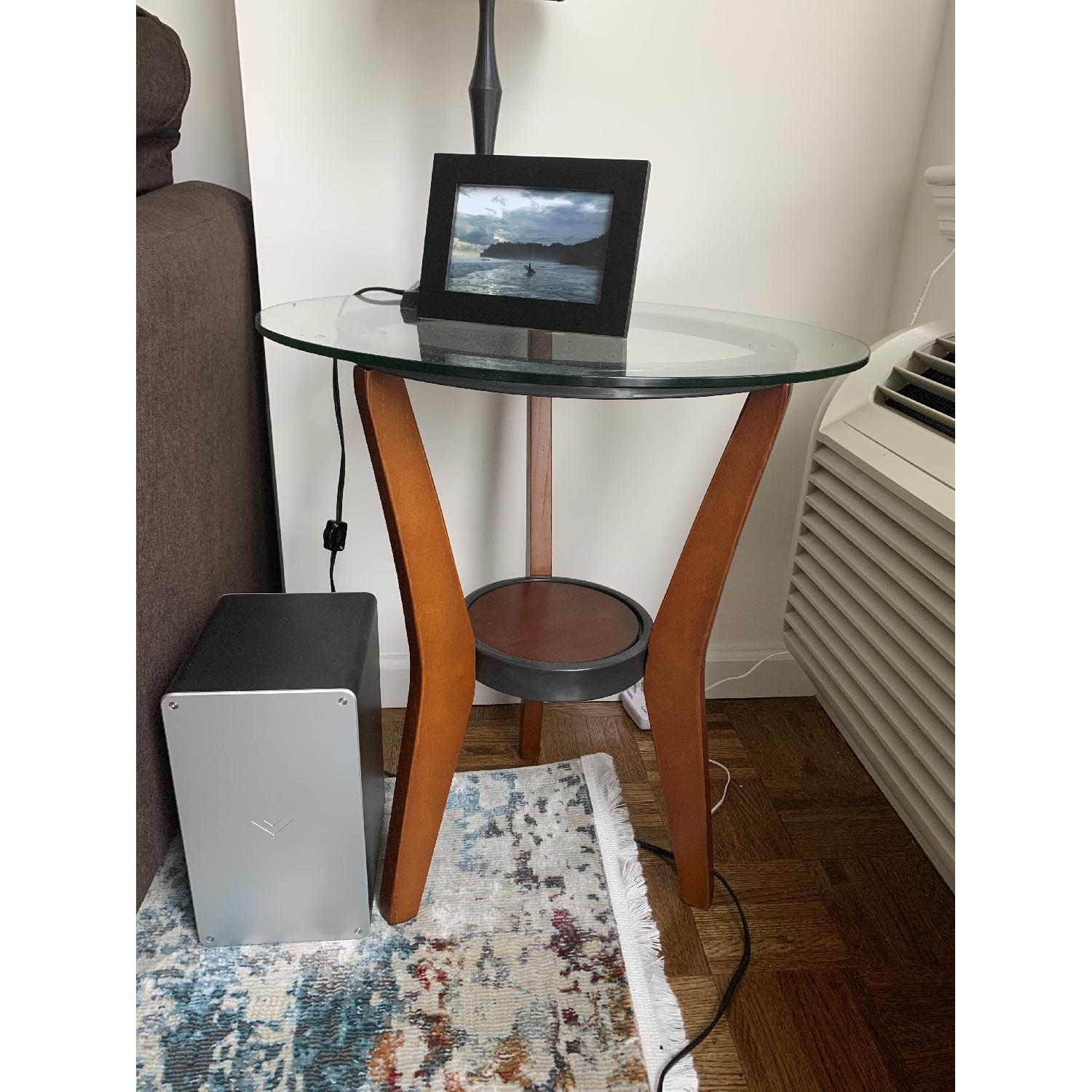 Ashley Glass Coffee Table + 2 End Tables - image-3