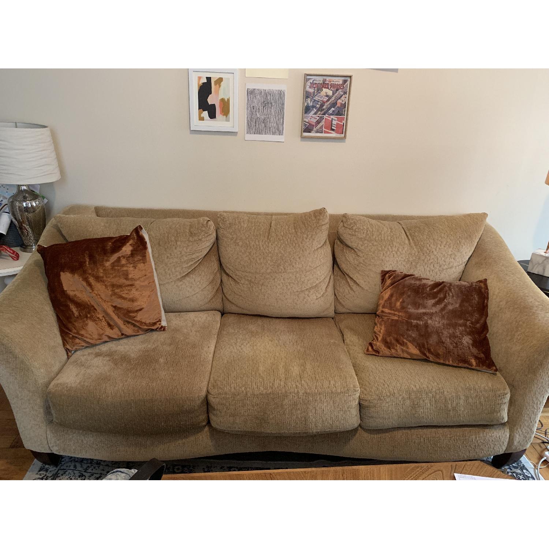 Beige 3-Seater Sofa - image-1