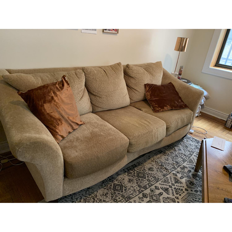 Beige 3-Seater Sofa - image-2