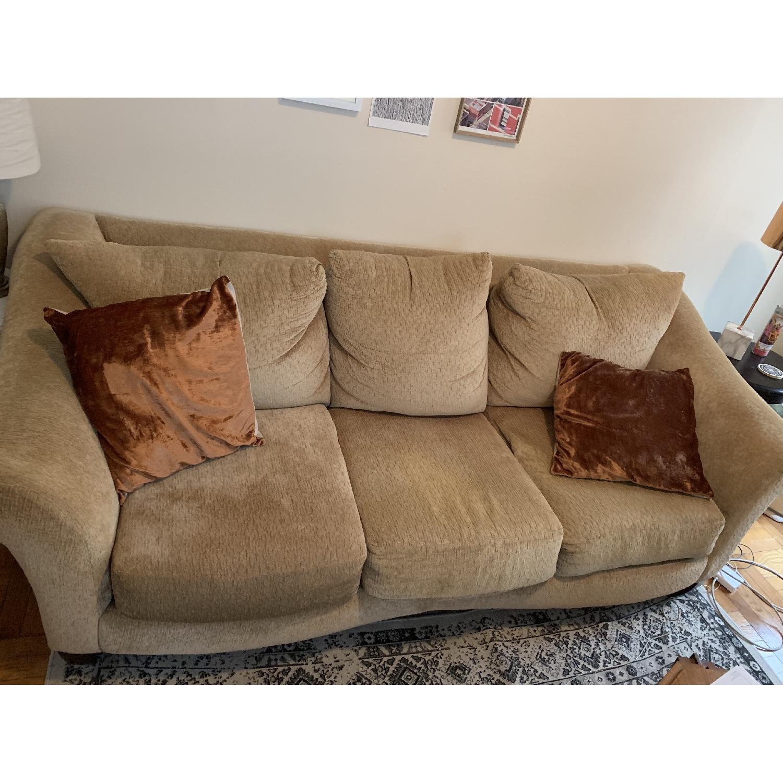 Beige 3-Seater Sofa - image-3