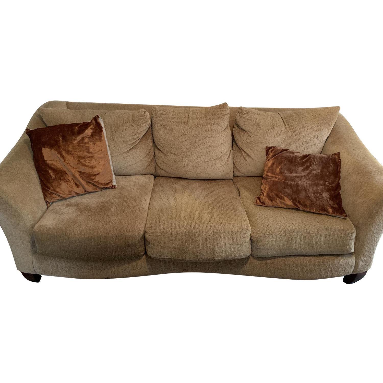 Beige 3-Seater Sofa - image-0