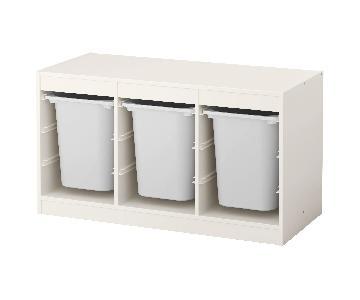 Ikea Trofast Storage Combination w/ Boxes