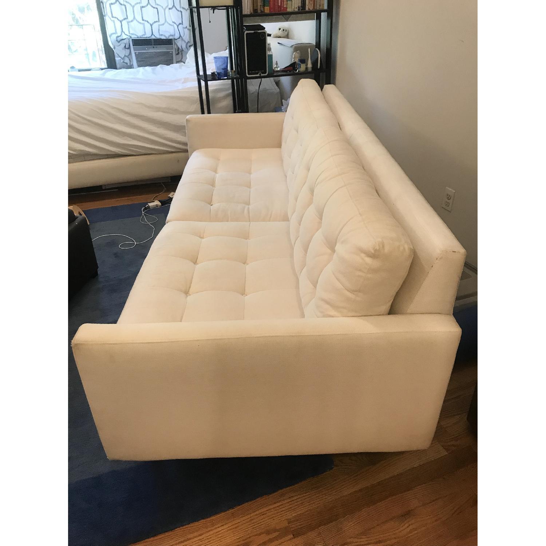 Crate & Barrel Petrie Mid Century Sofa in Beige - image-2