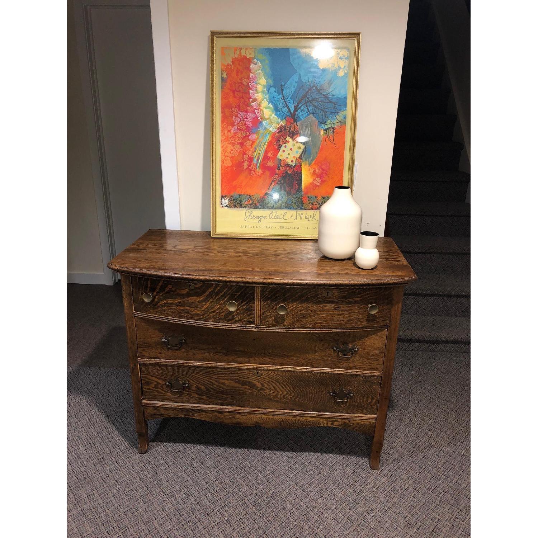 Antique Dresser in Oak - image-2