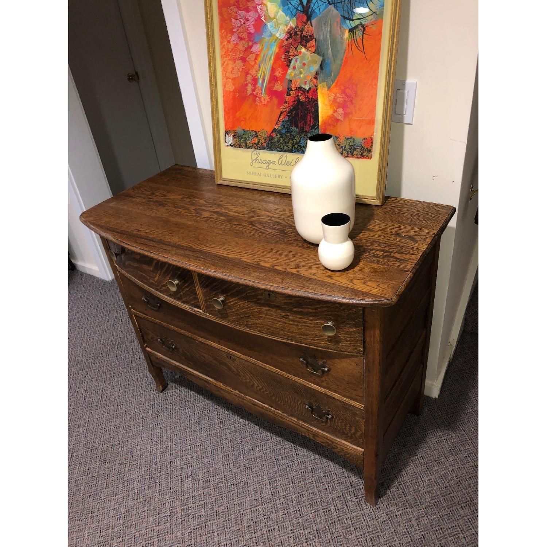 Antique Dresser in Oak - image-5