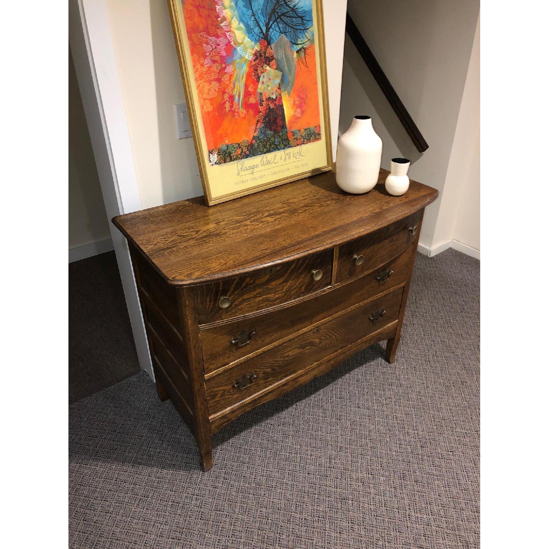 Antique Dresser in Oak - image-8