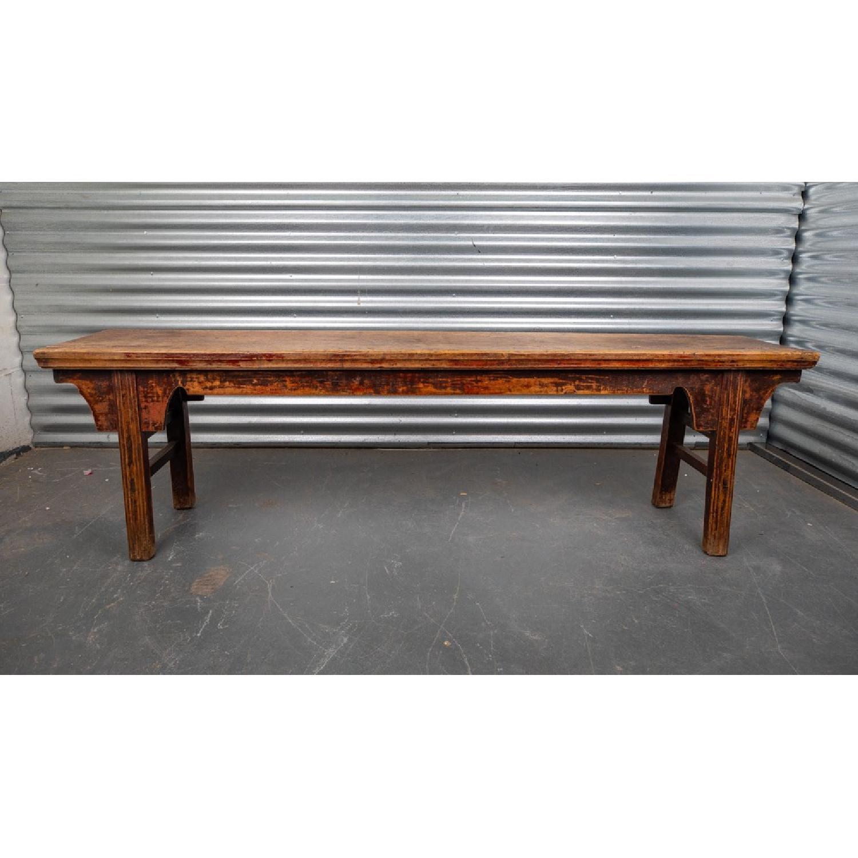 Room & Board Wood Bench - image-1