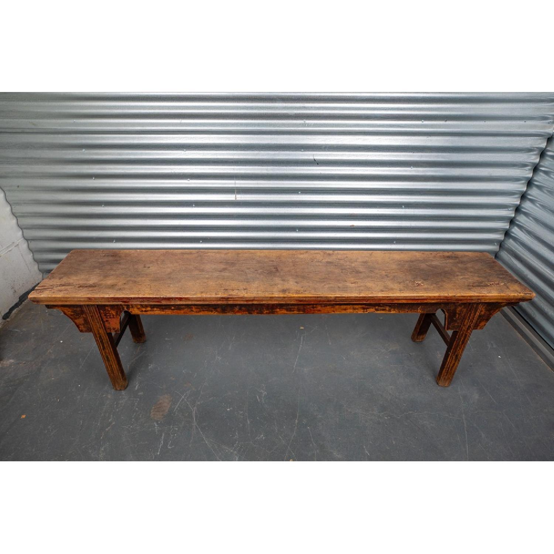 Room & Board Wood Bench - image-2