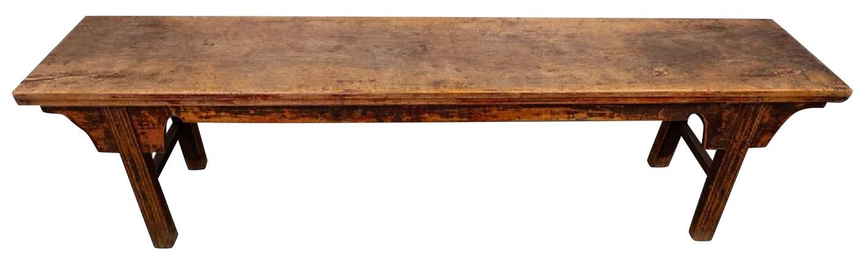 Room & Board Wood Bench