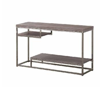 Withered Grey Contemporary Style Sofa Table