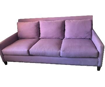 Lillian August Lilac Studded Sofa