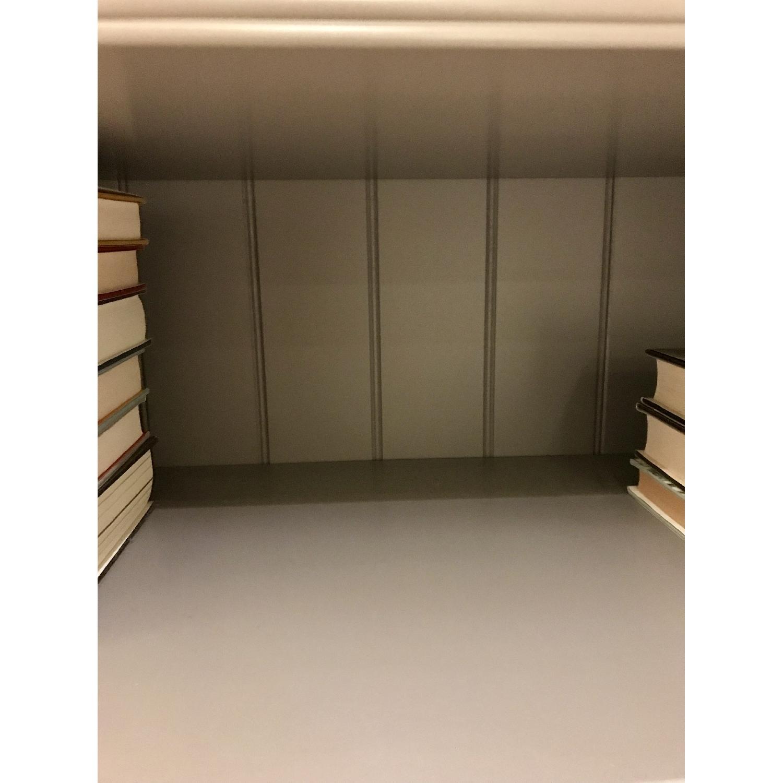 Ikea Liatorp Gray Bookcase