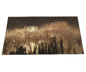 Target Gray/Gold Wall Art