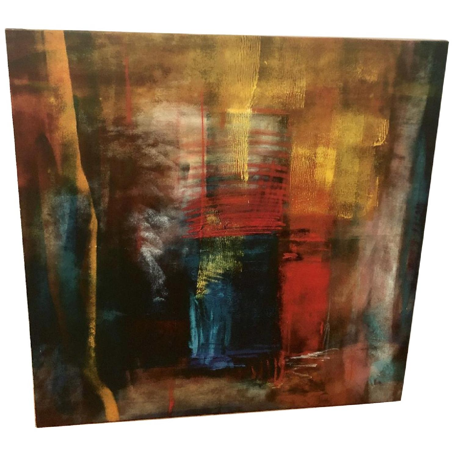 Multicolor Abstract Canvas Print - image-0