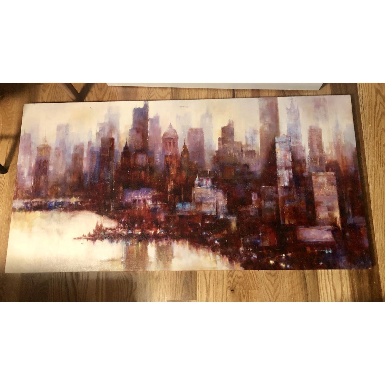 City Skyline Canvas Print - image-1