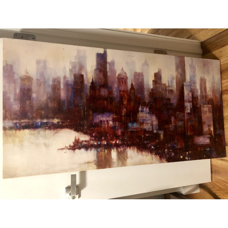 City Skyline Canvas Print - image-2