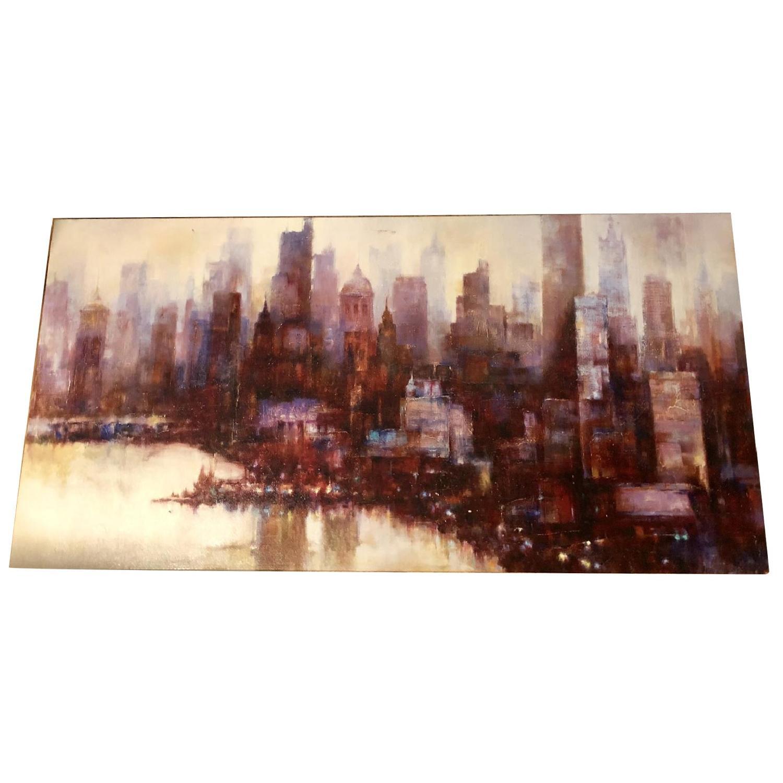 City Skyline Canvas Print - image-0