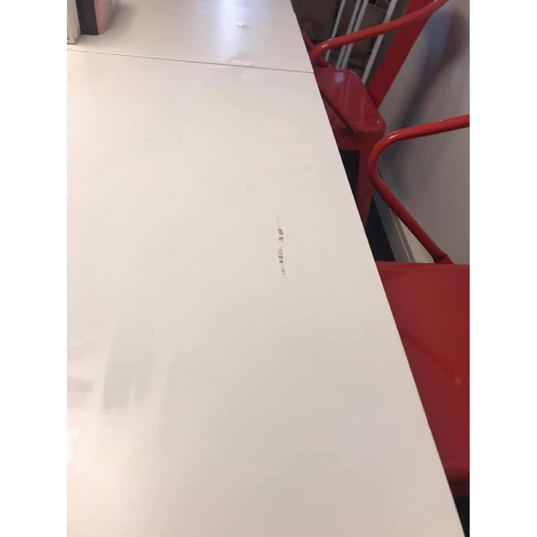 Ikea Norden White Gateleg Table - image-5