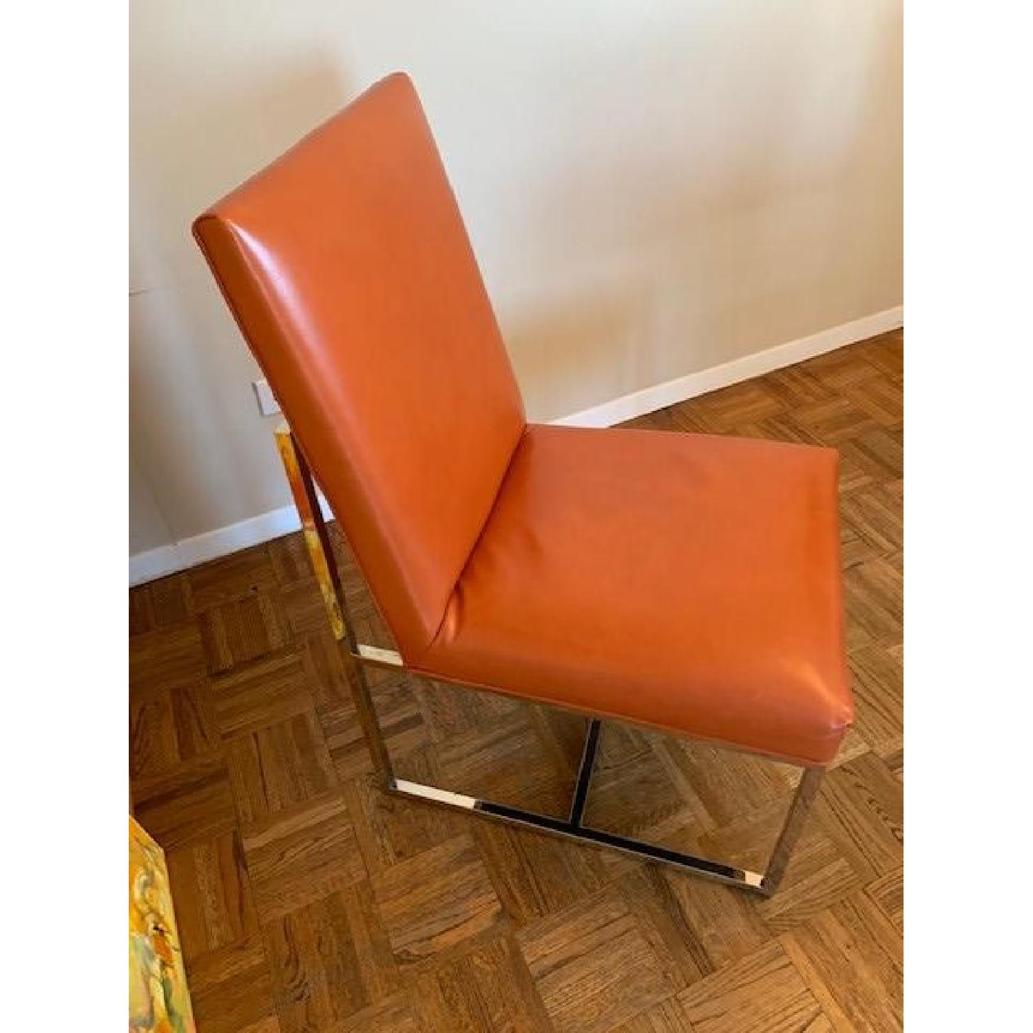 Mitchell Gold + Bob Williams Gage Leather Dining Chairs - image-1