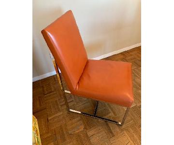 Mitchell Gold + Bob Williams Gage Leather Dining Chairs
