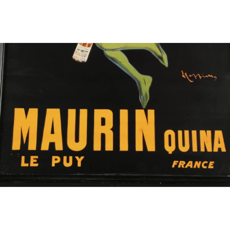 Leonetto Cappiello Maurin Quina Offset Lithograph Poster - image-4