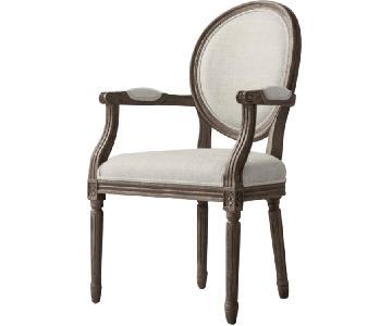 Restoration Hardware Vintage French Round Chair