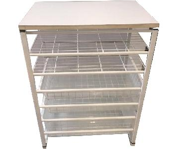 Container Store Elfa Medium Drawer Unit