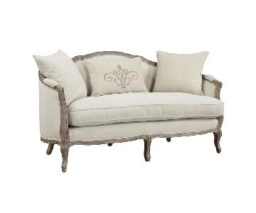 Duffield French Country Settee