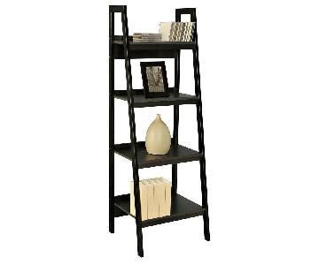 Ameriwood Industries Black 4-Tier Bookshelves