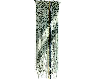 CB2 Braided Fringe Wall Hanging