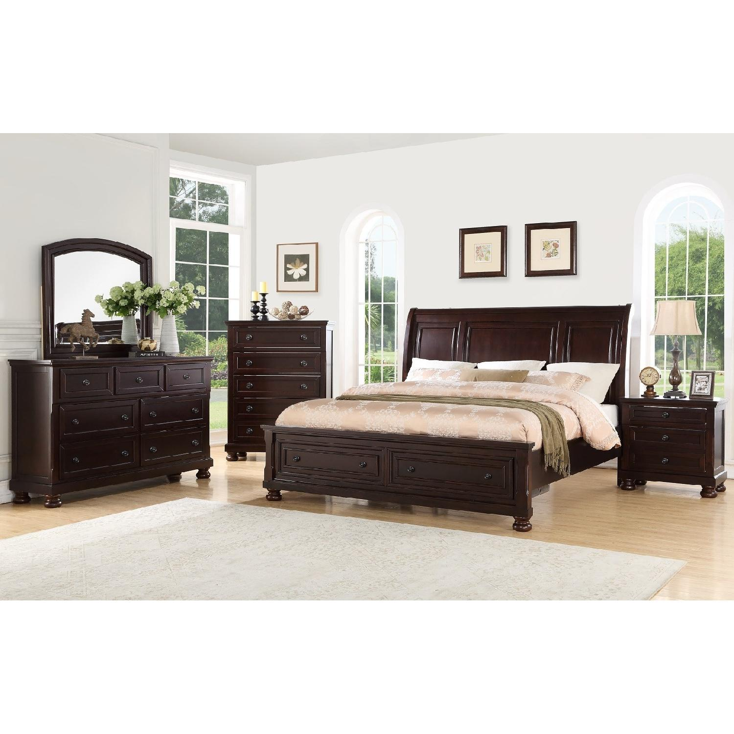 Shaker Style 9-Drawer Dresser in Antique Mink Finish - image-2