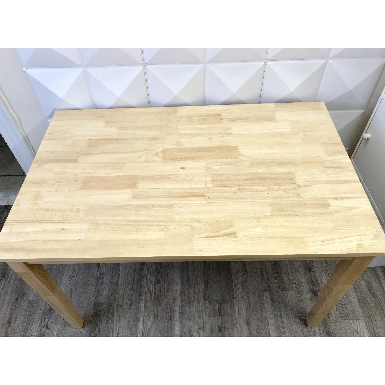 Wood Dining Table - image-5