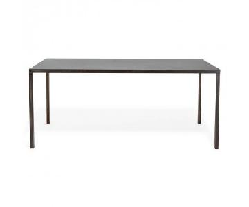 ABC Carpet and Home Flatiron Braze Steel Dining Table