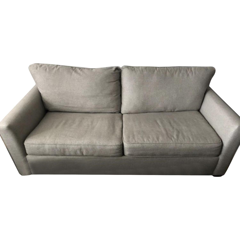 Raymour & Flanigan Grey Sleeper Sofa