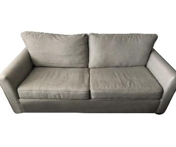 Raymour & Flanigan Grey Sleeper Sofa