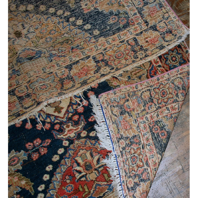 Antique Handmade Persian Malayer Rug