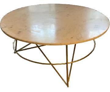 Anthropologie Beteline Marble Coffee Table