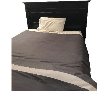 Bob's Spencer Black Queen Sized Bed Frame