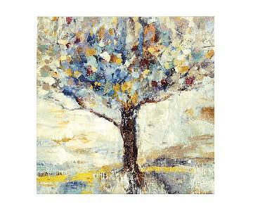 Ballard Designs Tree Giclee Cotton Canvas on Wood Frame