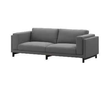Ikea Nockeby Grey Sofa