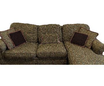 Custom 3 Seat Chaise Sectional Sofa