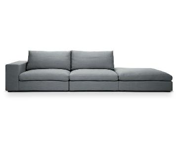 Article Cube Thunder Grey Sectional Sofa